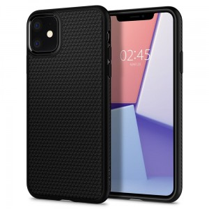 Etui do iPhone 11 Spigen Liquid Air [czarny mat]