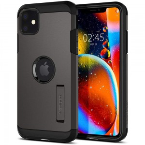 Etui do iPhone 11 Spigen Tough Armor [ciemno szary]