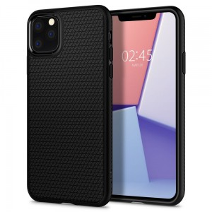 Etui do iPhone 11 Pro Spigen Liquid Air [czarny mat]