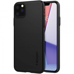 Etui do iPhone 11 Pro Spigen Thin Fit Air [czarny]