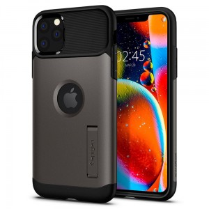 Etui do iPhone 11 Pro Spigen Slim Armor [ciemno szary]