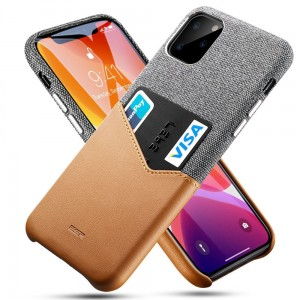 Etui do iPhone 11 Pro Max Esr Metro Wallet [brązowy]