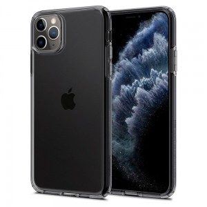 Etui do iPhone 11 Pro Max Spigen Liquid Crystal [przydymiony]