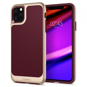 Etui do iPhone 11 Pro Max Spigen Neo Hybrid [burgund]