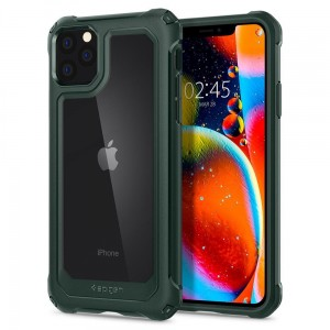 Etui do iPhone 11 Pro Max Spigen Gauntlet [zielony]
