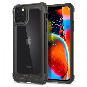 Etui do iPhone 11 Pro Max Spigen Gauntlet [ciemno szary]