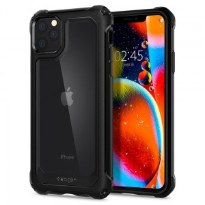 Etui do iPhone 11 Pro Max Spigen Gauntlet [czarny]