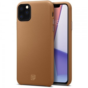 Etui do iPhone 11 Pro Max Spigen La Manon Calin [brązowy]