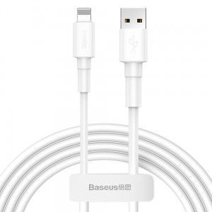Kabel Baseus Mini White LIGHTNING 100cm [biały]