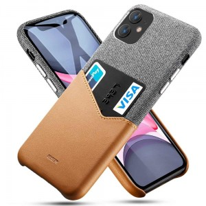 Etui do iPhone 11 Esr Metro Wallet [brązowy]