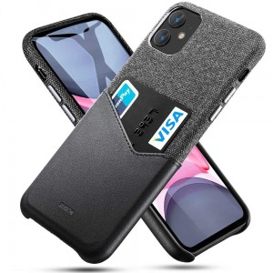 Etui do iPhone 11 Esr Metro Wallet [czarny]