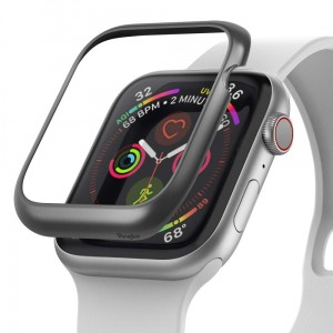 Etui ochronne do Apple Watch 4/5 (44mm) Ringke Bezel Styling [matowy szary]