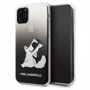 Etui do iPhone 11 Pro Max Karl Lagerfeld Choupette Fun Sunglasses [czarny]