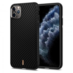 Etui do iPhone 11 Pro Max Spigen Ciel Wave Shell [czarny]