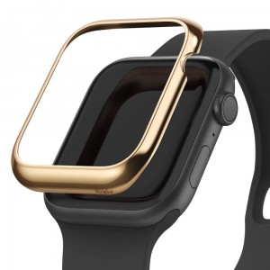 Etui ochronne do Apple Watch 4/5 (44mm) Ringke Bezel Styling [błyszczący złoty]