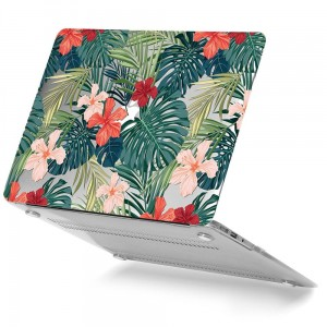 Etui do MacBook Air 13 Tech-Protect Smartshell [tropikalne rośliny]