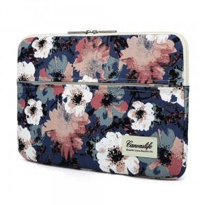 Pokrowiec do laptopa 13-14 cali Canvaslife Sleeve [niebieska camellia]
