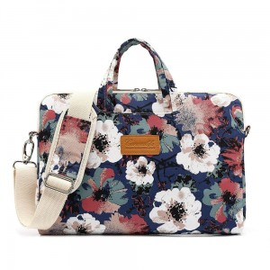Torba do laptopa 15-16 cali Canvaslife Briefcase [niebieska camellia]