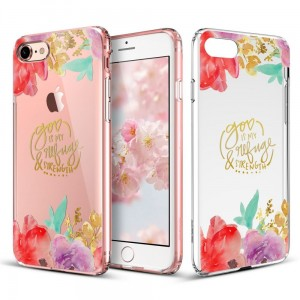 "Etui do iPhone 7/8 (4.7"") ESR Art Case [Aquarelle Flower]"