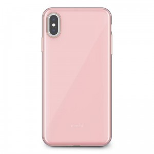 "Etui do iPhone XS MAX (6.5"") Moshi Iglaze [różowy]"