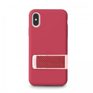 "Etui do iPhone X/XS (5.8"") Moshi Capto [malinowy róż]"