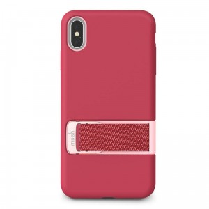 "Etui do iPhone XS MAX (6.5"") Moshi Capto [malinowy róz]"