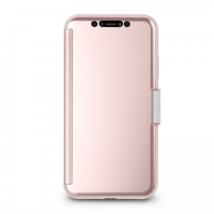 Etui do iPhone XR Moshi StealthCover [różowo złoty]
