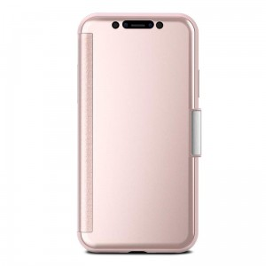 "Etui do iPhone X/XS (5.8"") Moshi StealthCover [różowo złoty]"