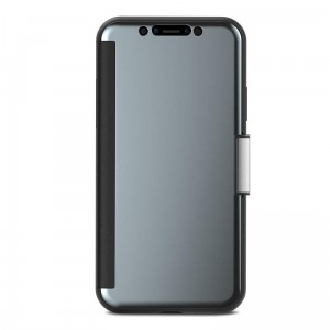 "Etui do iPhone X/XS (5.8"") Moshi StealthCover [stalowo szary]"