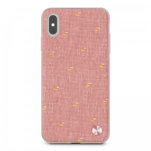 "Etui do iPhone XS MAX (6.5"") Moshi Vesta [różowy]"