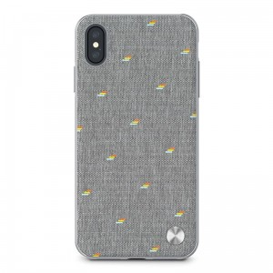 "Etui do iPhone XS MAX (6.5"") Moshi Vesta [jasno szary]"