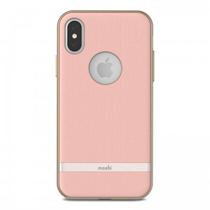 "Etui do iPhone X/XS (5.8"") Moshi Vesta [różowy]"