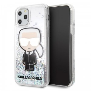 Etui do iPhone 11 Pro Karl Lagerfeld Glitter Iridescent Iconic