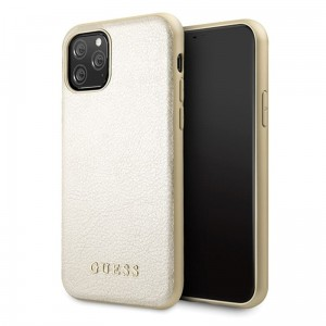 Etui do iPhone 11 Pro Guess Iridescent [złoty]