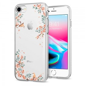 "Etui do iPhone 7/8 (4.7"") Spigen Liquid Crystal. Blossom Nature"