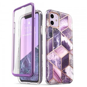 Etui do iPhone 11 Supcase Cosmo [fioletowy]