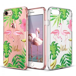 "ESR Art Case [Flamingo], Etui na iPhone 7/8 (4.7"")"