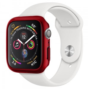 Etui ochronne do Apple Watch 4/5 (40mm) Spigen Thin Fit [czerwony]