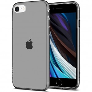 Etui do iPhone 7/8/SE 2020 Spigen Liquid Crystal [przydymione]