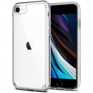 Etui do iPhone 7/8/SE 2020 Spigen Ultra Hybrid [bezbarwne]