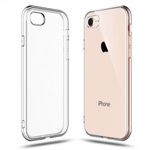 Etui do iPhone 7/8/SE 2020 Tech-Protect Flexair [bezbarwne]