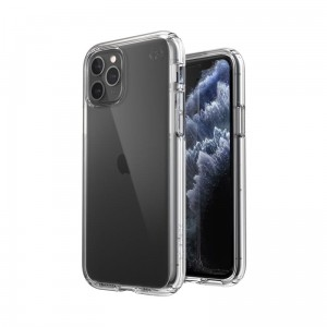 Etui do iPhone 11 Pro Speck Presidio Perfect Clear z powłoką Microban [przejrzysty]