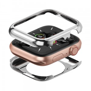 Etui ochronne do Apple Watch 4/5 (44mm) Ringke Full Frame [srebny]