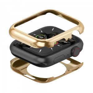 Etui ochronne do Apple Watch 4/5 (44mm) Ringke Full Frame [złoty]
