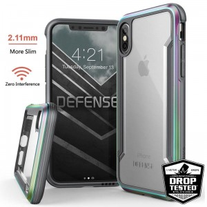 "Etui do iPhone X/XS (5.8"") X-Doria Defense Shield [opalizujący]"