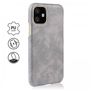 Etui do iPhone 11 Crong Essential Cover [szary]