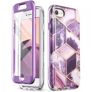 Etui do iPhone 7/8/SE 2020 Supcase Cosmo [purpurowy]