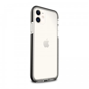 Etui do iPhone 11 Puro Impact Pro Hard Shield [czarna ramka]
