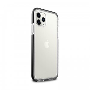 Etui do iPhone 11 Pro Puro Impact Pro Hard Shield [czarna ramka]