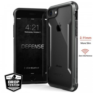 Etui do iPhone 7/8/SE 2020 X-Doria Defense Shield [czarny]